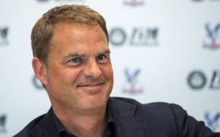new boss de boer wants palace to play champagne football