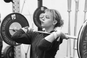 hull girl who swapped dancing for weightlifting to compete in british championships