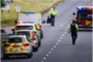 Motorcyclist in his 30s suffered serious life-changing injuries,...