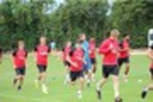 In pictures: Exeter City return to preseason training