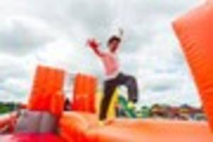 world's longest inflatable obstacle course coming to midlands -...