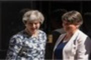 dup to back conservative minority government as theresa may and...