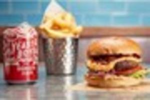this exeter restaurant is giving away free burgers at lunchtime