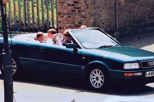 Princess Diana's car is going up for sale in Cambridge