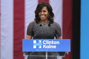 michelle obama makes surprise bet appearance to congratulate chance the rapper