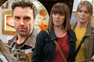 Emmerdale spoiler: Rhona reveals Pierce raped her to the village - but someone is stalking her