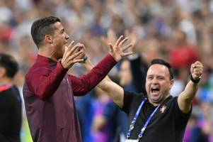 Manchester United legend Rio Ferdinand insists Cristiano Ronaldo wouldn't play as central striker