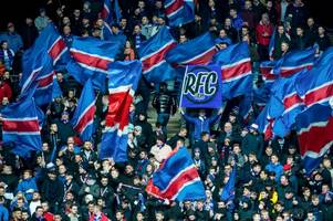 rangers heading for a europa league sell-out against progres niederkorn with only 300 briefs remaining