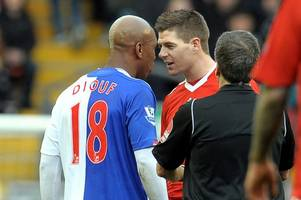 steven gerrard 'did nothing for his country' – el hadji diouf reignites war of words with liverpool legend