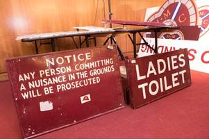 toodle-loo as hearts fans say goodbye to old stand by snapping up quirky tynecastle mementoes