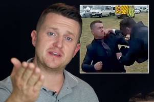 'i'm not being a punchbag': ex edl thug tommy robinson describes moments before royal ascot fight
