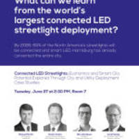 Telensa, Georgia Power, City of Harrisburg and Northeastern Group to Participate in Panel on Connected LED Streetlights at Smart Cities Connect