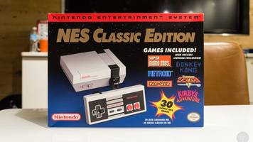 Nintendo making 'significantly more' SNES Classic units than NES Classic