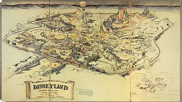 first disneyland map sells for £555,000