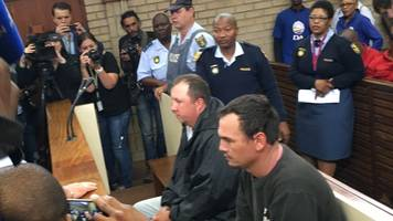 south africa moves 'coffin' assault case to high court