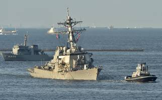 uss fitzgerald stayed on collision course despite warning: philippine ship's captain