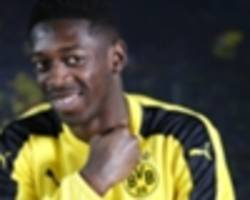 where ousmane dembele fits into guardiola's revolution