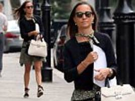 Pippa Matthews is spotted out and about in London