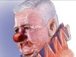 lions boss gatland branded a clown by new zealand press