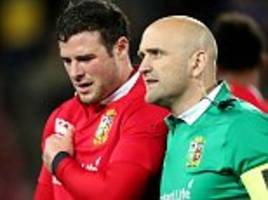 lions news: robbie henshaw's tour 'could be over'