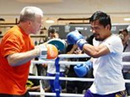 Manny Pacquiao slams Mayweather and McGregor superfight