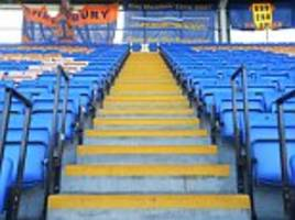 Shrewsbury Town first club to introduce safe standing