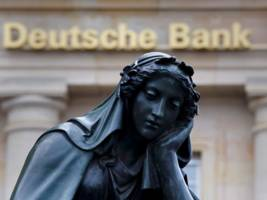 deutsche bank is reportedly staring down a $60 million trading loss (db)