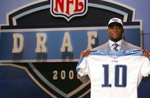 titans coaches had vince young behind matt leinart, jay cutler on draft board