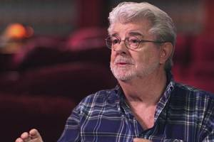 george lucas strikes back at autograph hounds: 'get a job'