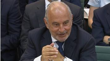 sir philip sold bhs to dodge pension cost, says regulator