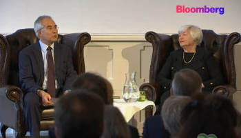 janet yellen discusses global economic issues: live feed