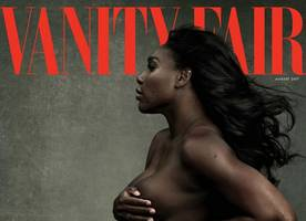 Pregnant Serena Williams Poses Nearly Nude for Vanity Fair