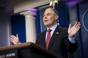 u.s. environmental protection agency chief blasted for 'offensive' budget request:trump budget would reduce epa's funding by $2.4 billion annually