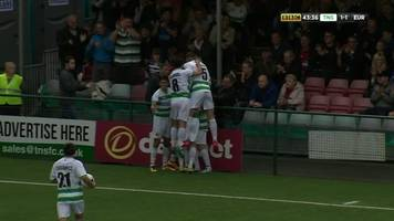 Highlights: The New Saints lose Champions League opener