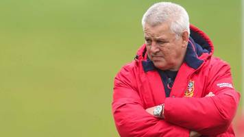 british and irish lions 2017: gatland non-committal on henderson test hopes