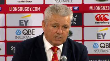 Warren Gatland: Henderson and Lawes' performances have given me 'food for thought'