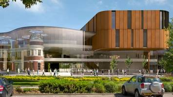 old doncaster girls' high school frontage plans for new library
