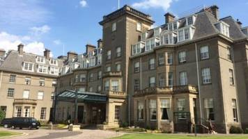 armed robbery at gleneagles hotel boutique