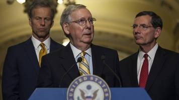 Senate GOP Health Care Bill In Jeopardy Of Stalling At Procedural Vote