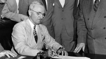 Trump's Travel Ban Rests On A 1952 Law That President Truman Hated