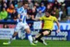 former derby county and burton albion defender told he can leave...
