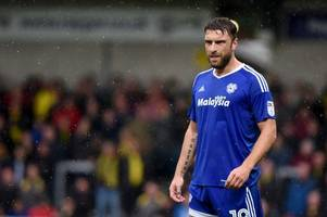 bristol rovers legend rickie lambert unlikely to feature much for cardiff city this season