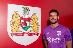 Eros Pisano's wife takes to social media to congratulate him on Bristol City signing