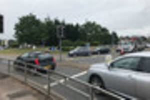 technical fault caused traffic light failures across exeter