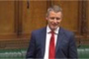 watch as mp demands more money for plymouth in maiden speech