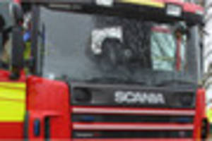 Fire crews tackle car fire in Trent Vale