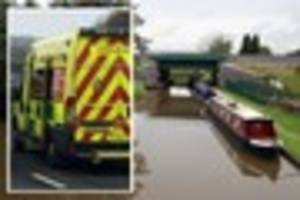 ​paramedics use narrowboats to rescue man who collapsed on...