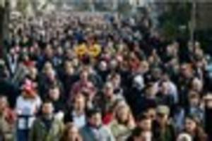 Cornwall's population has been growing by 5,000 per year