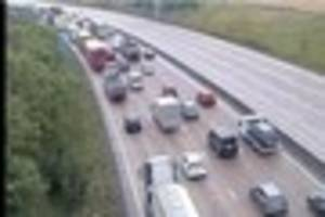 M25 Waltham Cross police incident: Carriageway closed after...