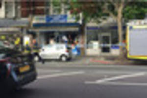 Person sustained burns in Thornton Heath shop explosion